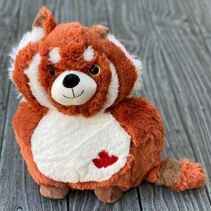 """Foxy Panda Fluffy Soft Plush Stuffed Animal 10.5"""""""